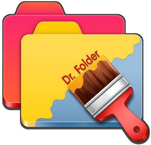 برنامج تغيير لون واشكال المجلدات : Dr  Folder 2.6.7.9