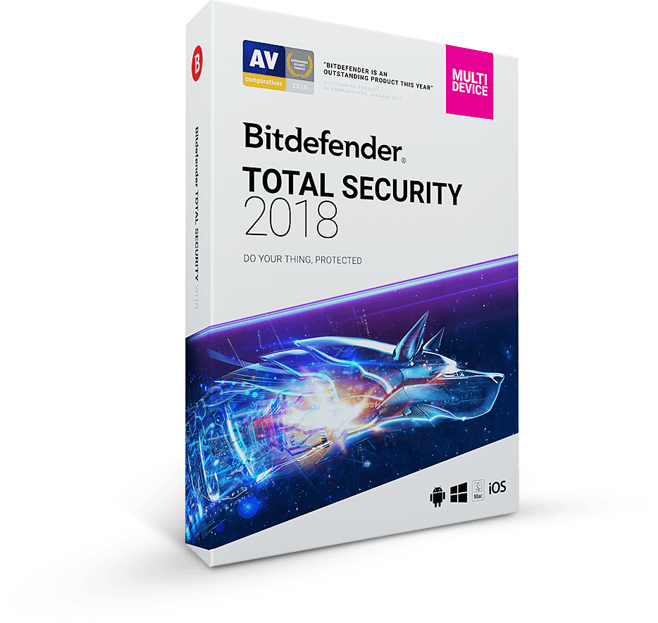 مجاني Bitdefender Total Security 2018