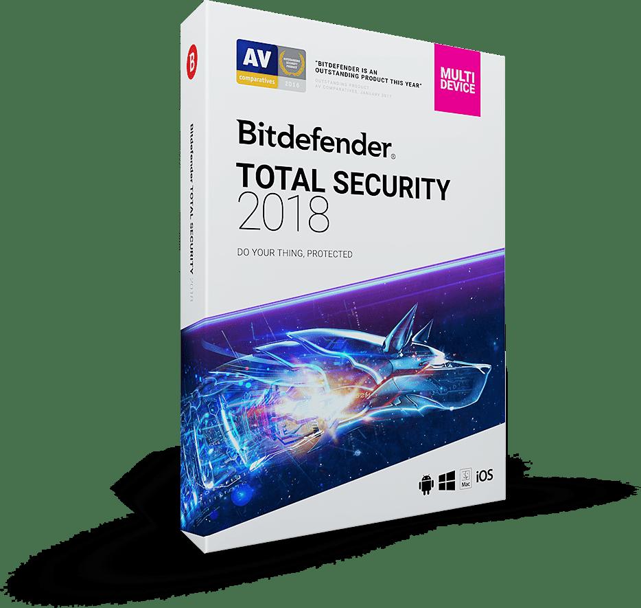 Bitdefender Total Security 2018 140067