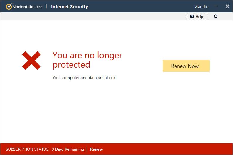 Norton Security 2020