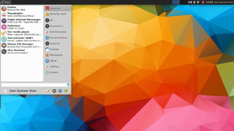 korora-xfce-apps.jpg